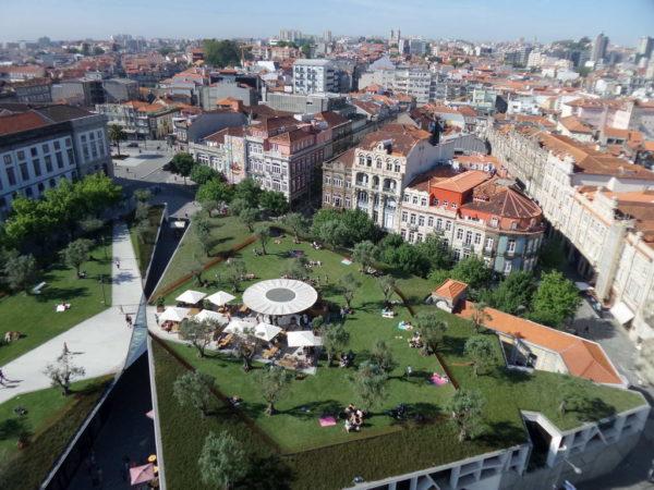 Porto, Base Porto Cafe, View from Clerigos Tower