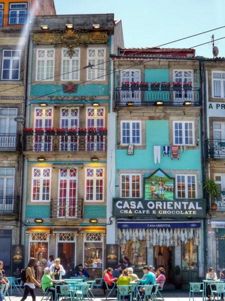 Porto, Casa Portuguesa do Pastel de Bacalhau & Casa Oriental