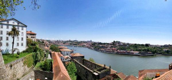 Porto, View of Douro River