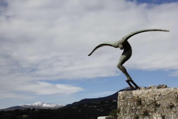 St. Paul, Sculpture L'Envol de Fondacaro