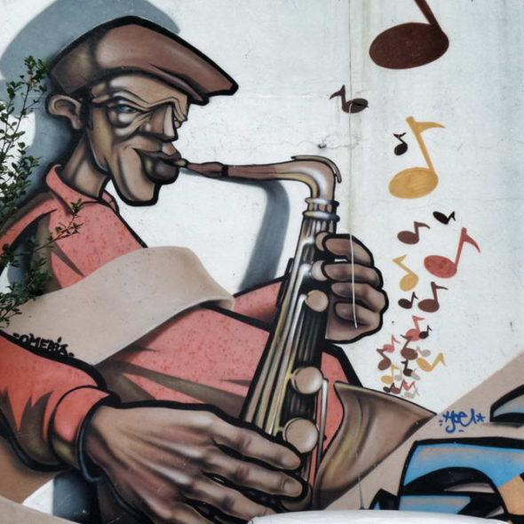 Istanbul Jazz Graffiti