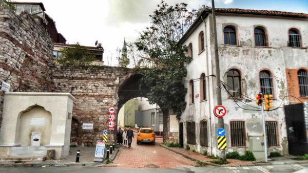 Cibalikapı_Sivrikoz Fountain & The Gate & Station