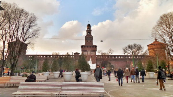 Milan_Sforzesco Castle
