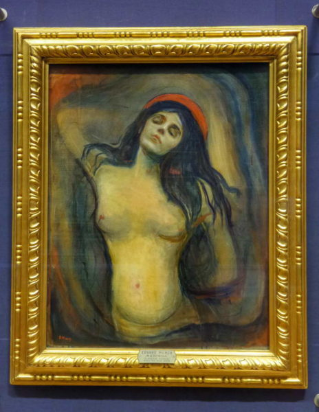 Oslo_Edvard Munch_Madonna