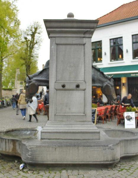 Brugge_Horse Fountain
