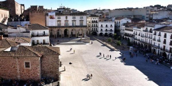 Caceres_Plaza Mayor