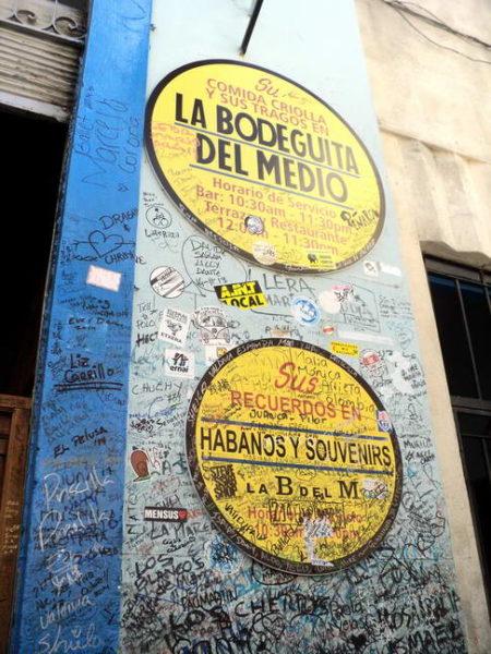Havana_La Bodeguita del Medio