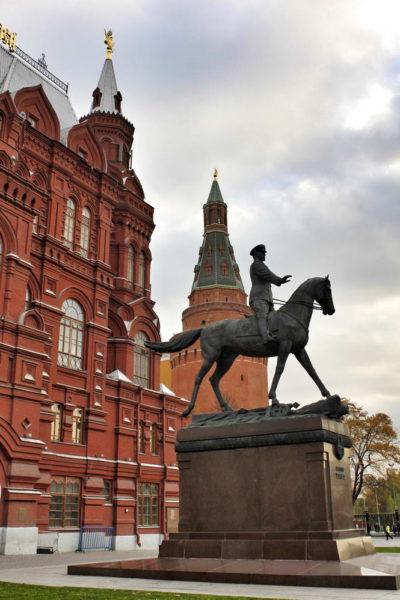 Moscow - Marshal Zhukov Monument