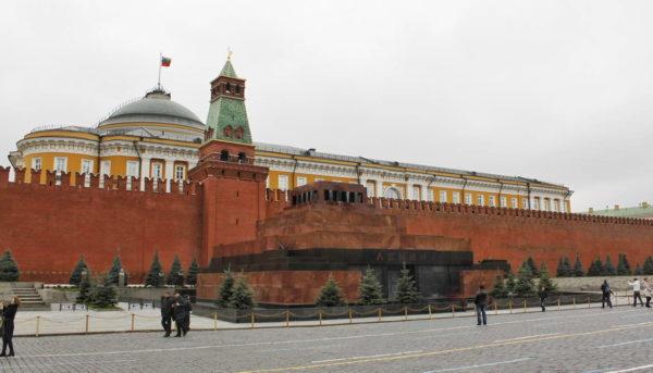 Moscow - Mausoleum of Vladimir Lenin