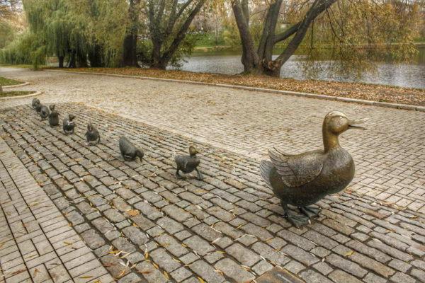 Moscow - Novodevichy Ponds Park