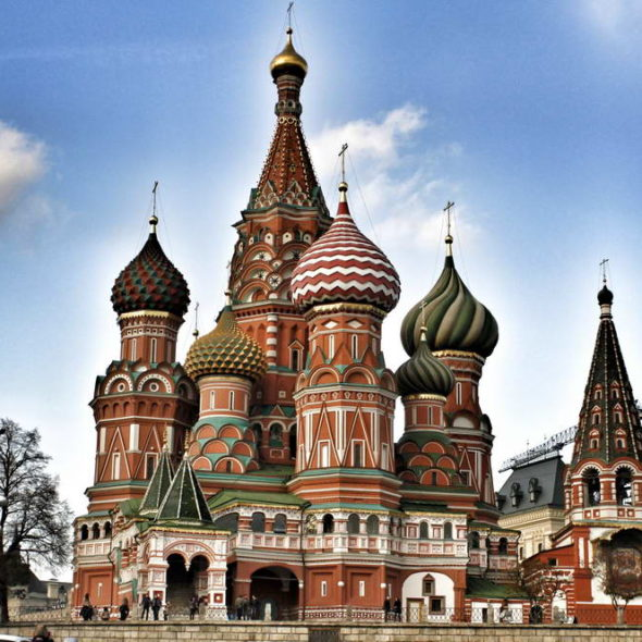 Moscow - Saint Basil's Cathedral
