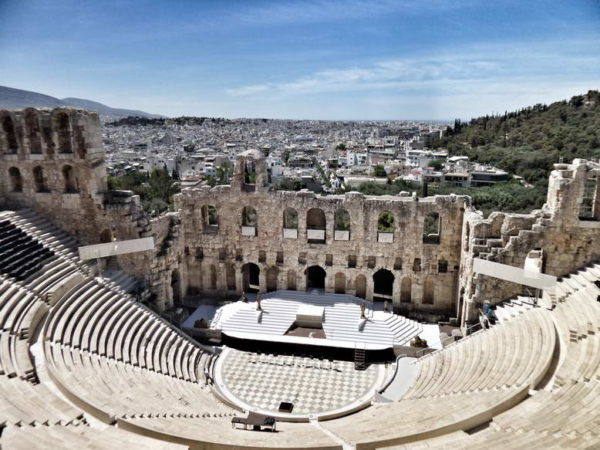 Acropolis_Odeon of Herodus Atticus
