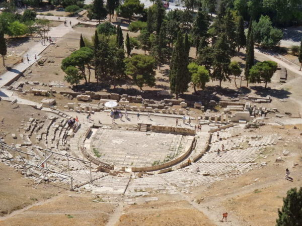Acropolis_Theater of Dionysus