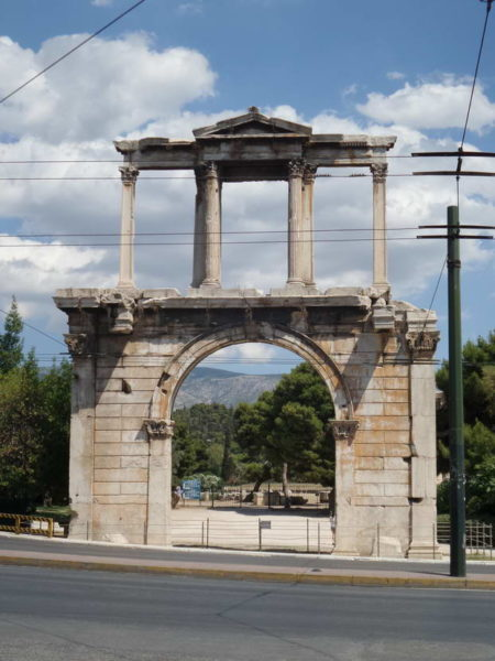 Athens_Arch of Hadrian