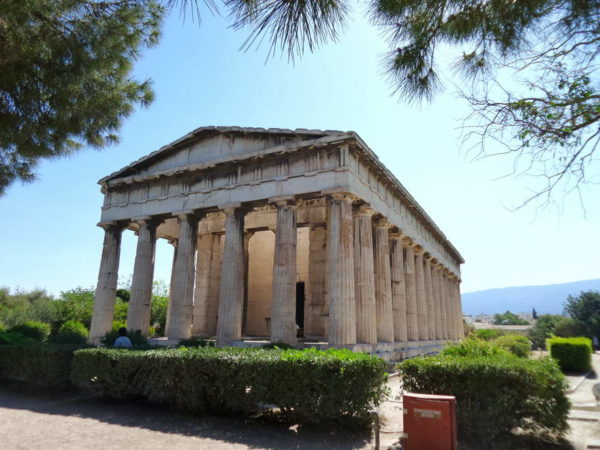 Athens_The Temple of Hephestus