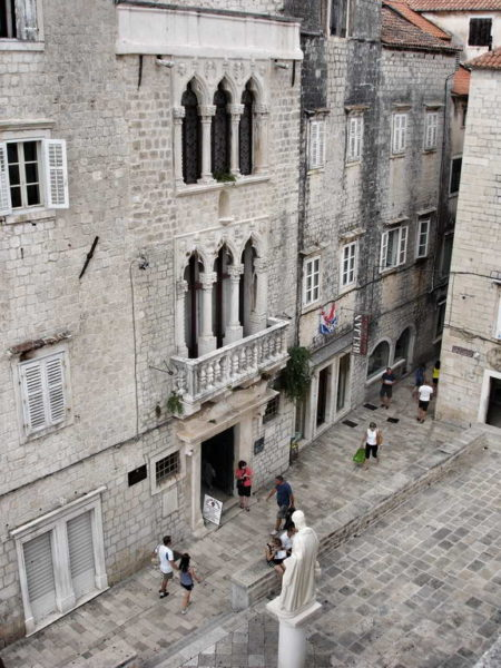 Trogir_The Cipiko Palace