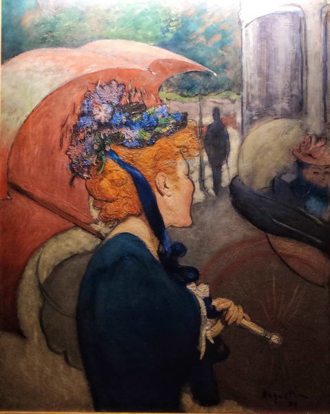 Arkas_Louis Anquetin_Woman with Umbrella