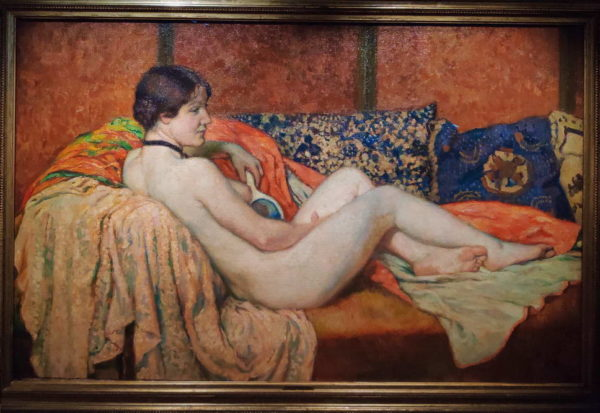 Arkas_Theo van Rysselberghe_Model at rest
