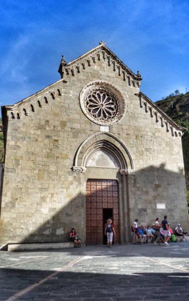 Manarola_Church of San Lorenzo