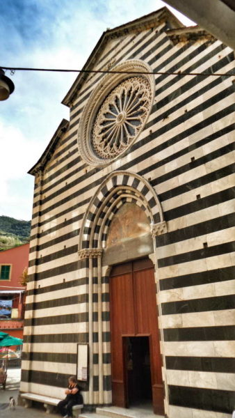 Monterosso_Church of San Giovanni Battista