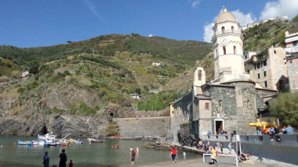Vernazza_Church of Santa Margherita d'Antiochia
