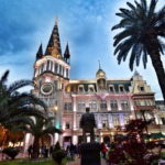 Batumi_National Bank of Georgia & Astronomical Clock