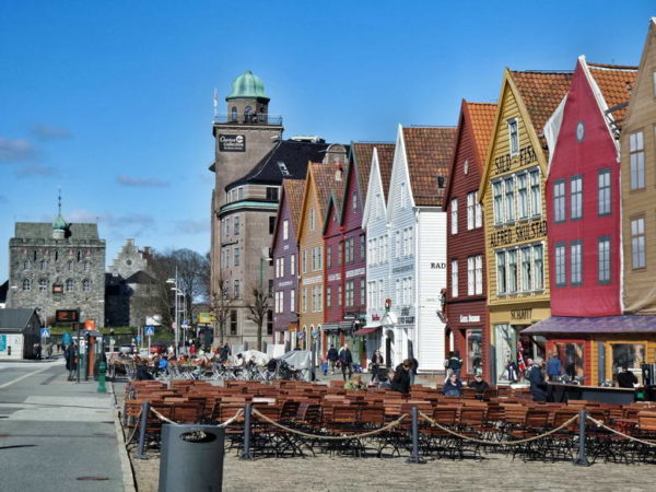 Bergen_Bryggen & Rosenkrantz Tower