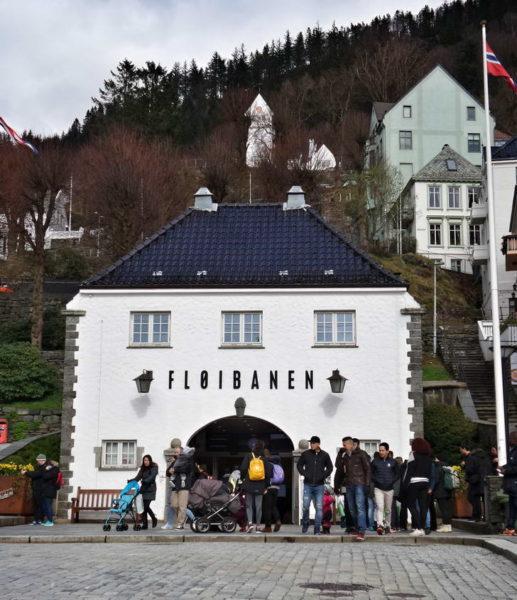 Bergen_Fløibanen Funicular