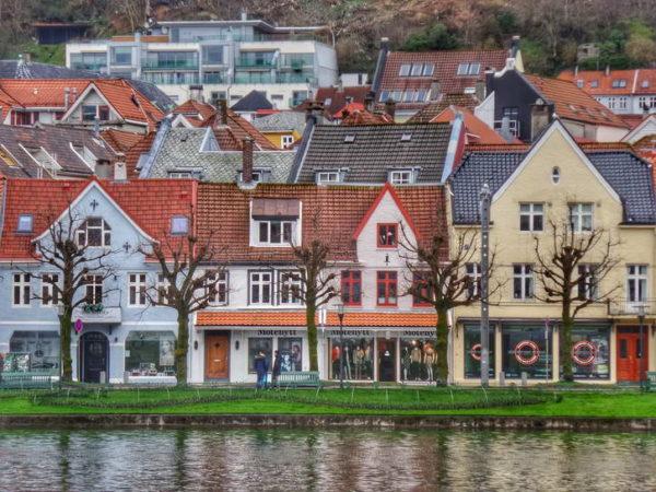 Bergen_Lake Lungegardsvann