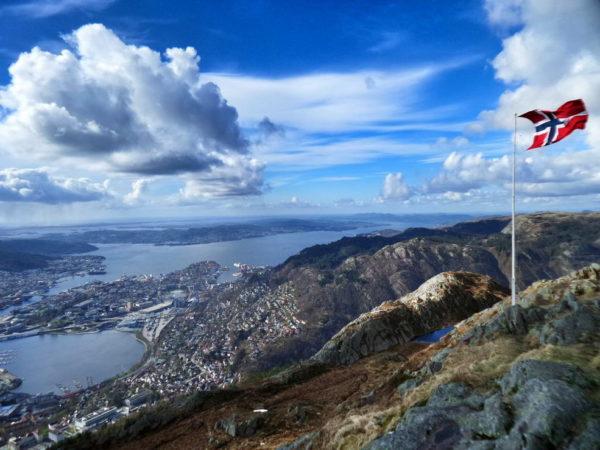 Bergen_View from Mount Ulriken