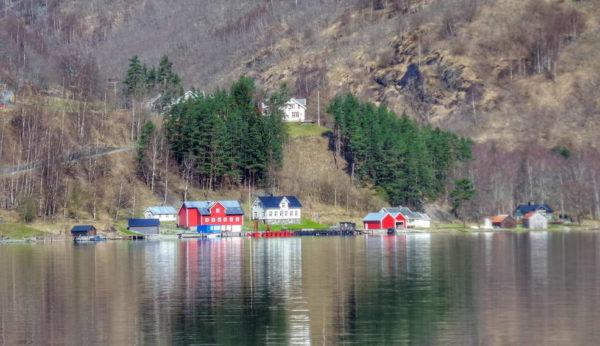 Gudvangen_Nærøyfjord Cruise