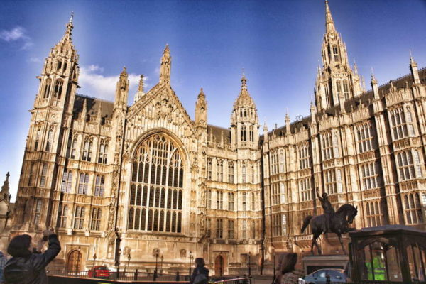 London_Houses of Parliament & King Richard I