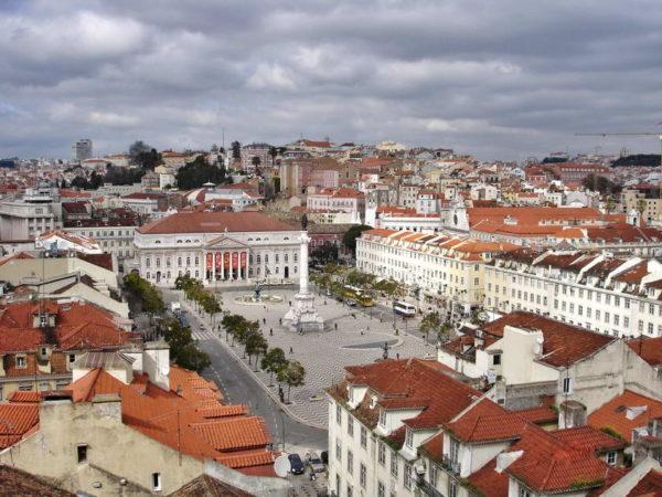 Lisbon_Praça do Rossio