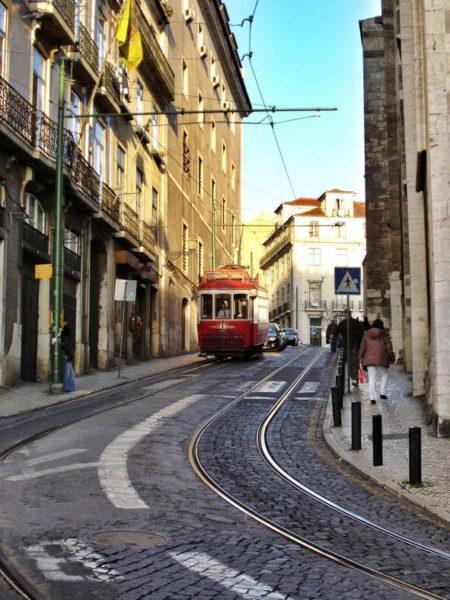 Lisbon_Red Tram