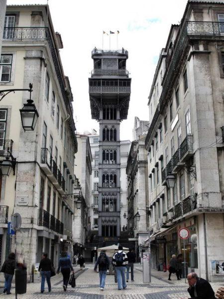 Lisbon_Santa Justa Lift