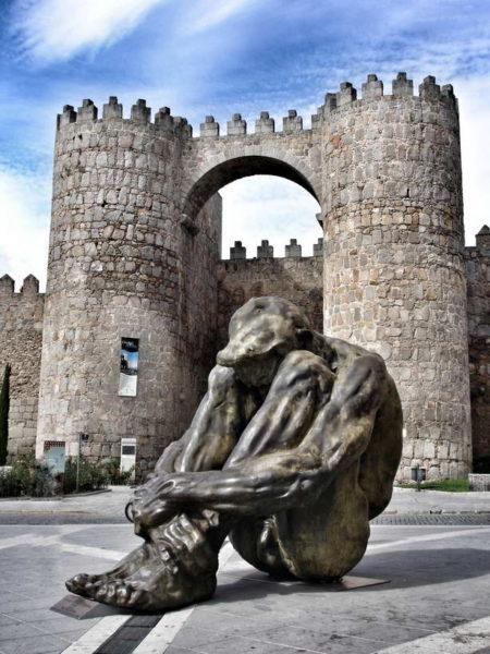 Avila_Puerta del Alcázar