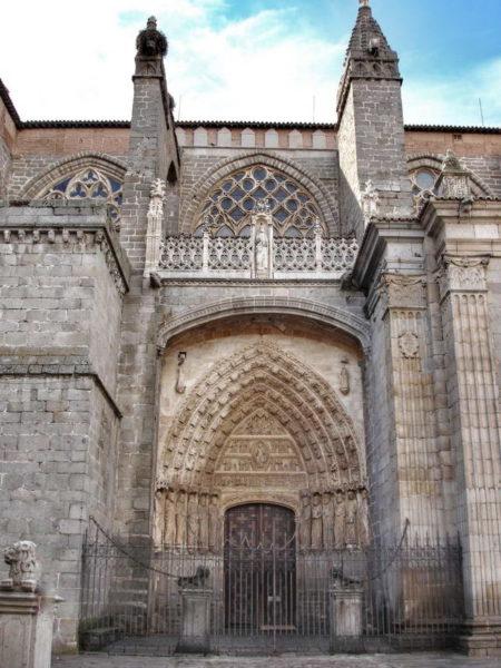 Avila_San Salvador Cathedral
