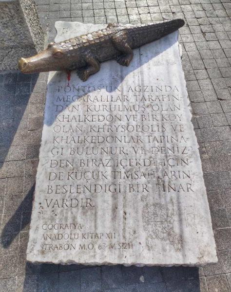 Kadıköy_The Crocodile Statue