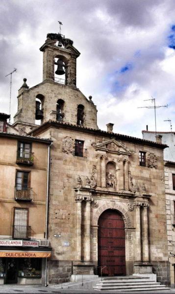 Salamanca_Church of San Martín