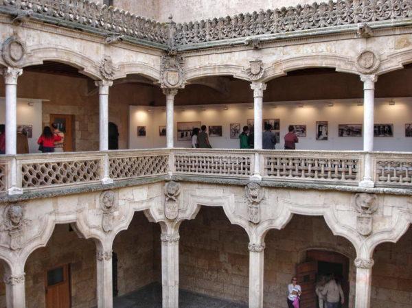 Salamanca_Courtyard of Casa de Las Conchas