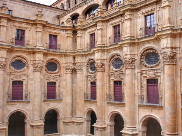 Salamanca_Courtyard of Clerecia Church