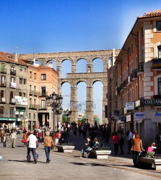 Segovia_Plaza Mayor