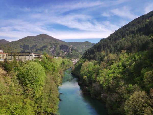 Jablanica - View from Neretva Bridge