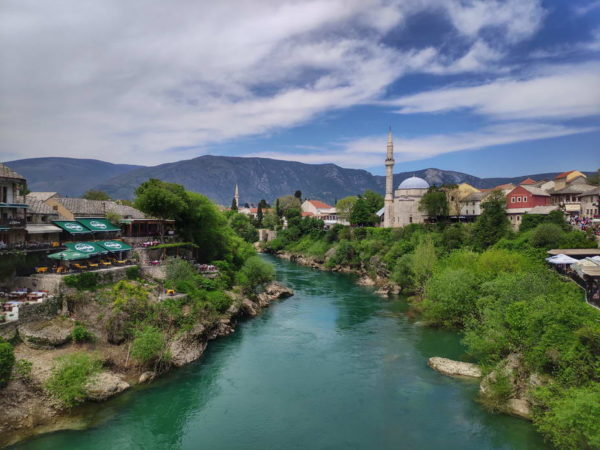 Mostar - View from Mostar Bridge