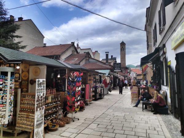 Sarajevo - Başçarşı & Sahat Kula