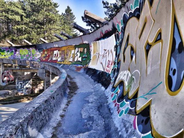 Sarajevo - Bobsleigh Track