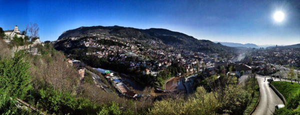 Sarajevo - View from Yellow Bastion