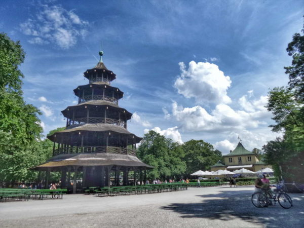 Munich - Chinese Pagoda