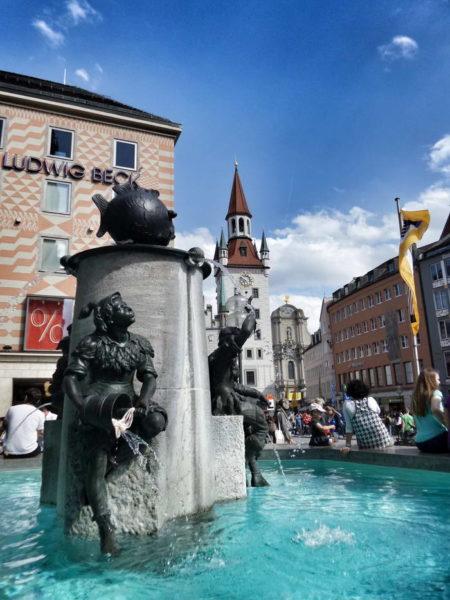 Munich - Fish Fountain
