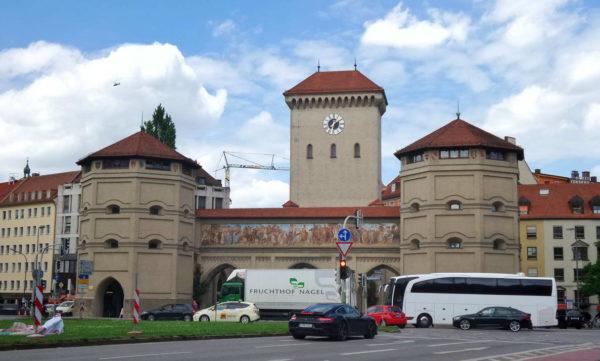 Munich - Isartor Gate